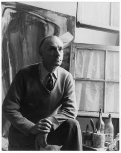gerard schneider - portrait rue armand moisant atelier paris 1954