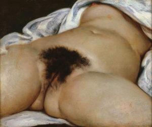 gustave courbet - peinture origine du monde 1866