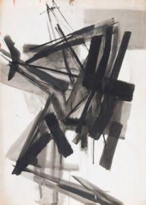 huguette arthur bertrand - ink paper untitled 1959