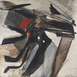 huguette arthur bertrand - painting gevaudan 1966