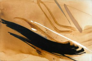 huguette arthur bertrand - painting l amant cachalot 1990