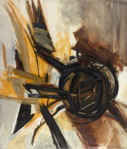 huguette arthur bertrand - painting oulan bator 1960