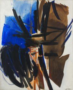 huguette arthur bertrand - painting raz de maree 1960 catalog 2018