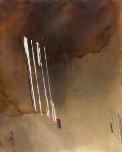 huguette arthur bertrand - painting voie directe 1992
