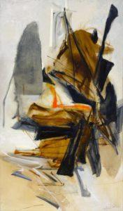 huguette arthur bertrand - paintinge les ajoncs 1961