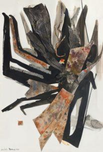 huguette arthur bertrand - paper grand collage 1965