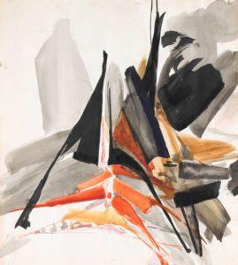 huguette arthur bertrand - paper untitled 1960