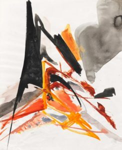 huguette arthur bertrand - untitled 1960 ca gouache