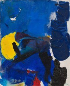 jean miotte - oil composition 1960