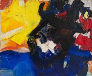 jean miotte - oil mouvement d amitie 1955