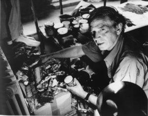 jean miotte - portrait atelier vitry 1992
