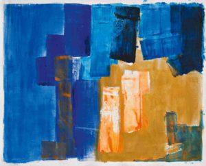 lois frederick - painting mediterranean summer 1958