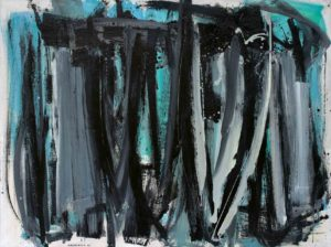 lois frederick - painting oil untitled 1960