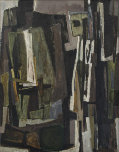 lois frederick - painting untitled 1955