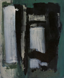 lois frederick - painting untitled 1960 oil