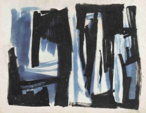 lois frederick - paper untitled 1950