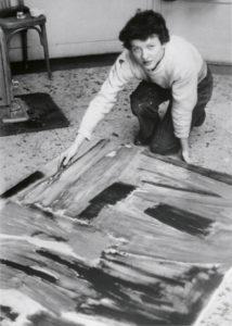 lois frederick - paris 1954 1955 portrait