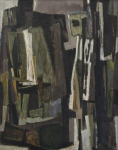 lois frederick - peinture sans titre 1955