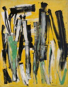 lois frederick - peinture sans titre 1958