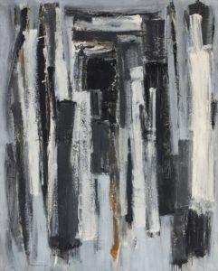 lois frederick - peinture sans titre 1960