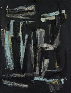 lois frederick - peinture sans titre 1960 ca