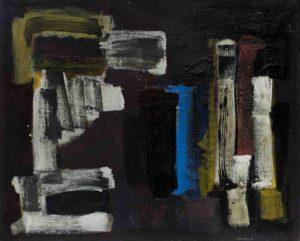 lois frederick - peinture sans titre 1964