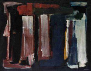 lois frederick - peinture sans titre 1964 huile