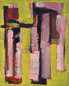 lois frederick - peinture sans titre 1966