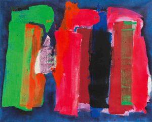 lois frederick - peinture sans titre 1973