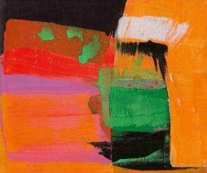 lois frederick - peinture sans titre 1983