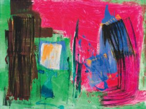 lois frederick - peinture sans titre 1990