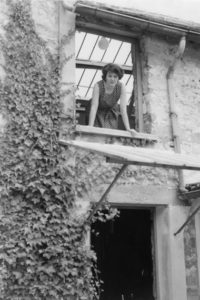 lois frederick - portrait les audigiers 1960