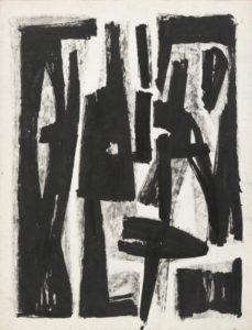 lois frederick - sans titre 1950 papier