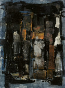 lois frederick - untitled 1960 painting