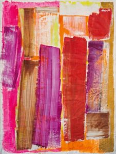 lois frederick - untitled 1980 painting