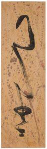 mark tobey - black flute 1953 papier