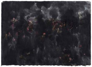 mark tobey - untitled 1957 paper