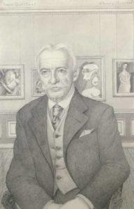 o brady - gertrude papier portrait roger dutilleul 1946