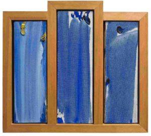 olivier debre - etude pour la peinture nouvelle ecole polytechnique 1976