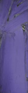 olivier debre - huile bleu 1976