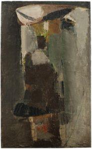 olivier debre - painting untitled 1956
