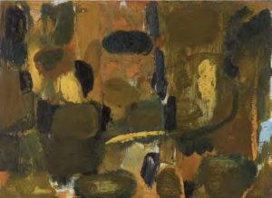 olivier debre - painting touraine 1954