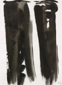 olivier debre - paper ink sans titre 1989