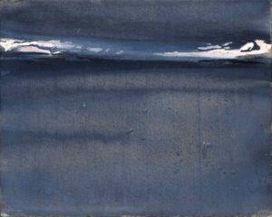 olivier debre - peinture kategat gris 1979