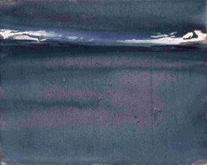 olivier debre - peinture kategat gris 1979 catalogue exposition 2017