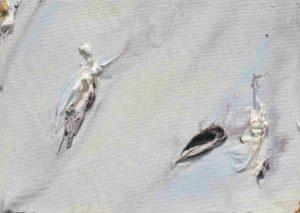 olivier debre - peinture petite grise de savoie 1976