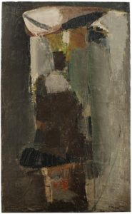 olivier debre - peinture sans titre 1956 catalogue exposition 2017