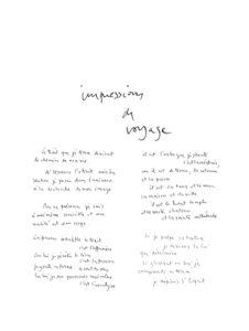 olivier debre - poeme impression de voyage exposition galerie ariel 1973 1