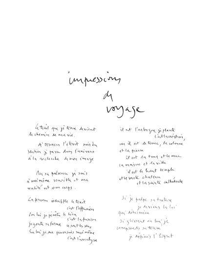 olivier debre - poeme impression de voyage exposition galerie ariel 1973 1 catalogue exposition 2017