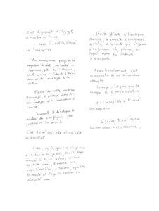 olivier debre - poeme impression de voyage exposition galerie ariel 1973 2